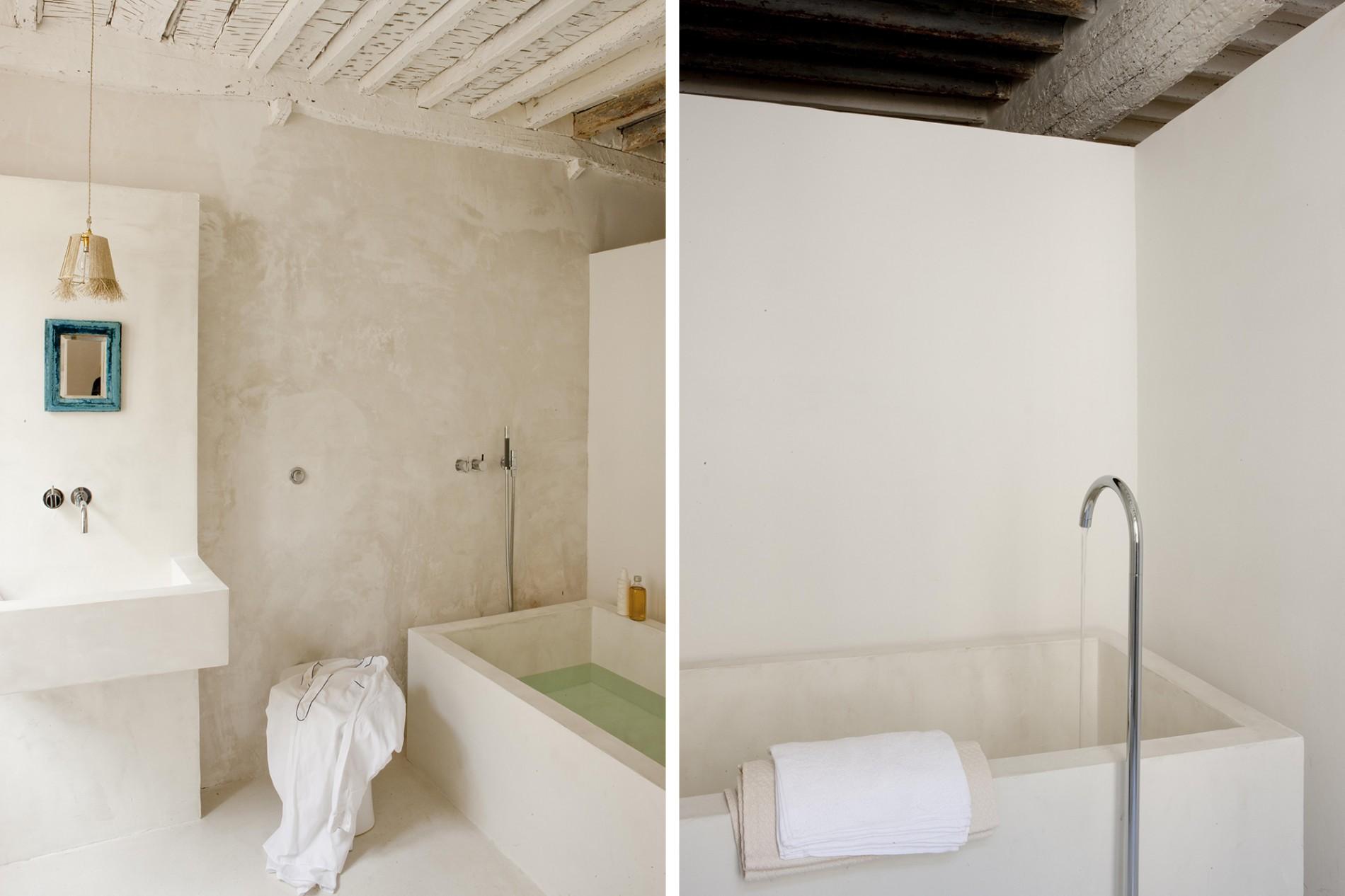 Blanc et lumi re by jacqueline morabito l 39 exploreur for Salle de bain 1900